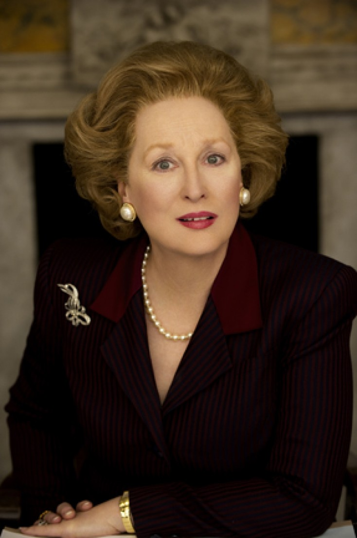 Streep Steps Into 'Small, Tight Shoes' of Thatcher