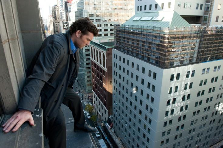 Sam Worthington Reaches New Heights in 'Ledge' – 3 Photos