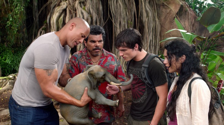 Dwayne Johnson Journeys to 'The Mysterious Island'