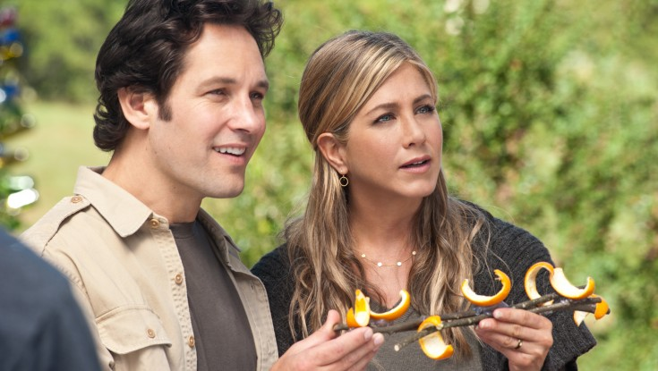 Aniston and Rudd Try Commune Life in 'Wanderlust'