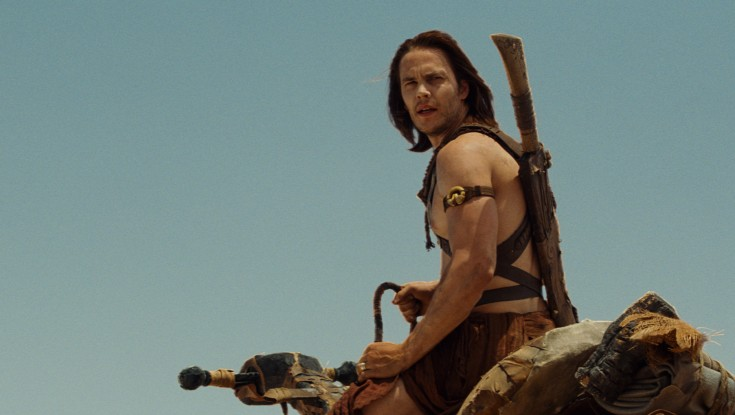 Taylor Kitsch Goes From Gridiron to 'John Carter' – 3 Photos