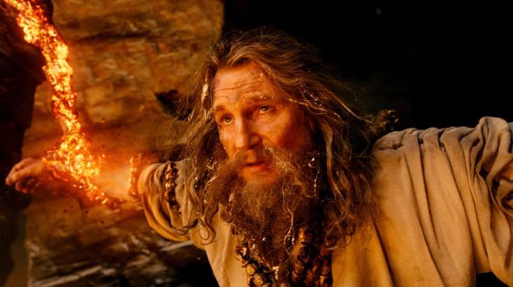 Neeson, Worthington Explore Familial Themes in 'Titans' – 3 Photos
