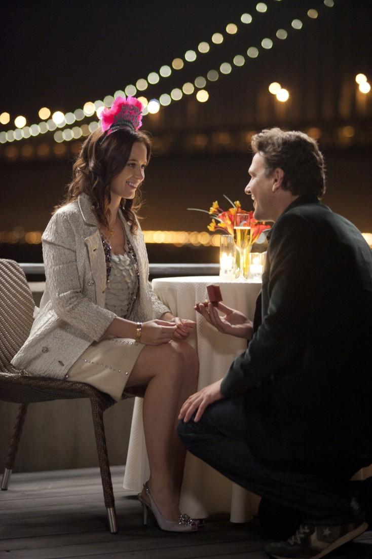 Emily Blunt and Jason Segel's Long 'Engagement' – 4 Photos