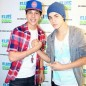 YouTube sensation Austin Mahone meets idol Justin Bieber