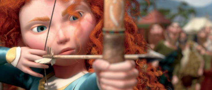 Pixar's Andrews Aims High with 'Brave' – 4 Photos