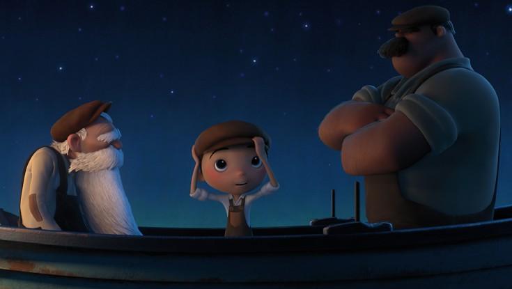 Director Enrico Casarosa of 'La Luna' at the 'Brave' world premiere