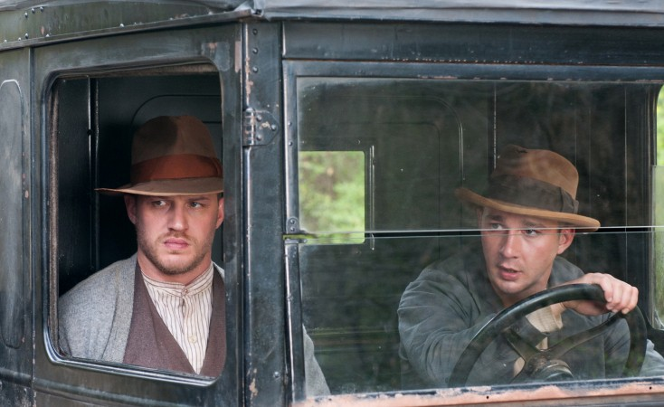 Hardy Shines as 'Lawless' Bootlegger