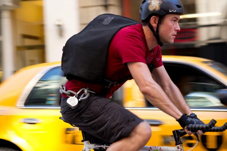 Joseph Gordon-Levitt Peddles 'Premium Rush' – 3 Photos
