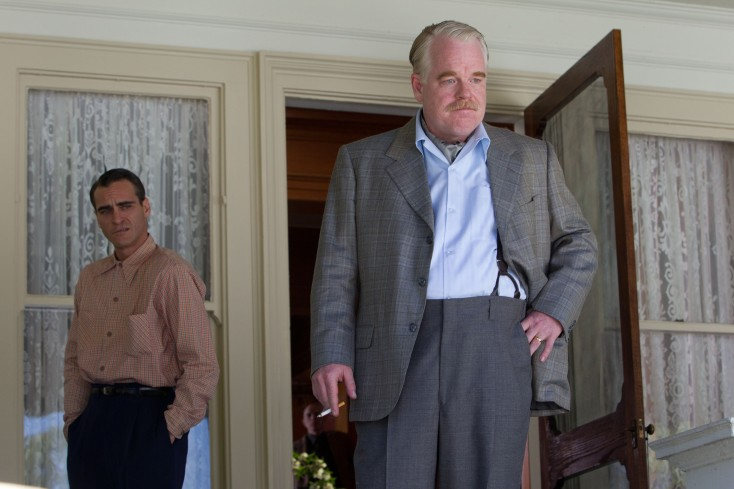 Phoenix and Hoffman Masterful in 'The Master'