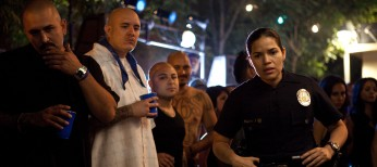 'Ugly Betty's' America Ferrera Dons Badge in 'End of Watch'