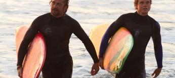 Gerard Butler Hangs Ten in 'Chasing Mavericks'