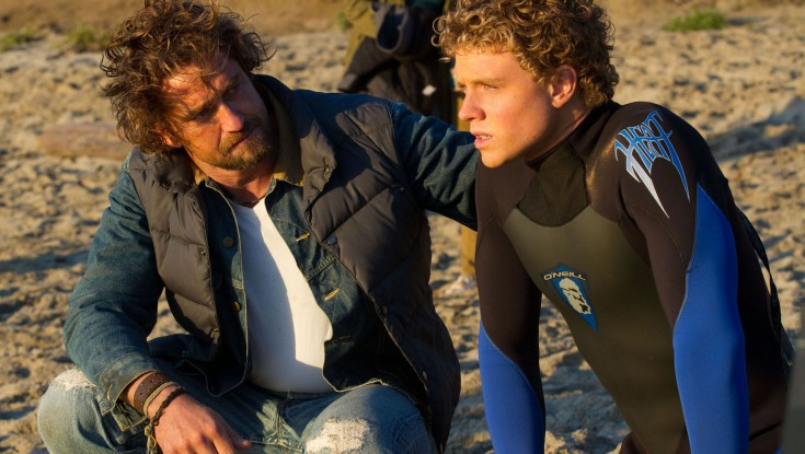 EXCLUSIVE: Michael Apted Makes Waves with 'Chasing Mavericks' – 3 Photos
