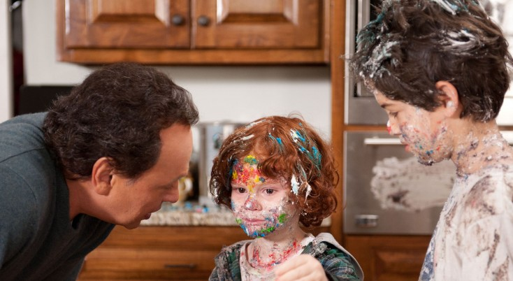 The Grandkids speak up on 'Parental Guidance' – 3 Photos