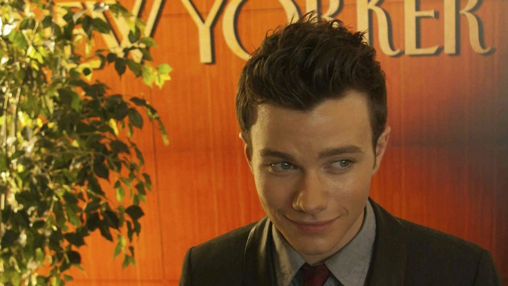 'Glee's' Chris Colfer Singing a New Tune – 4 Photos