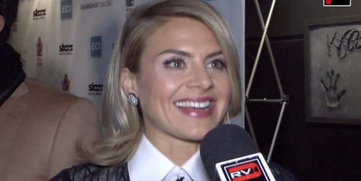 "Actress Eliza Coupe talks about her role in ""Shanghai Calling"" & expectations of ""Happy Endings"""