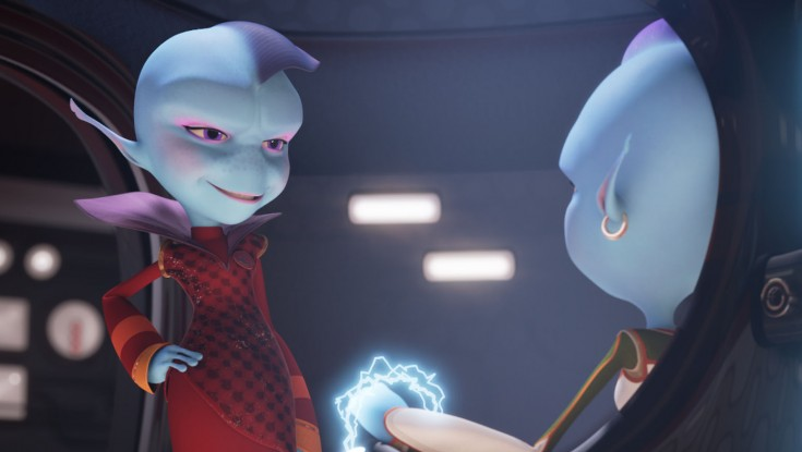 Jessica Alba Gets Animated in 'Escape From Planet Earth'