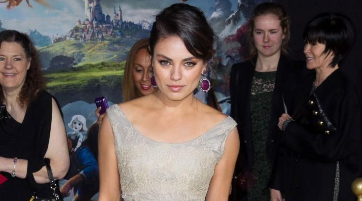 Mila Kunis Takes a Trip to 'Oz' – 3 Photos