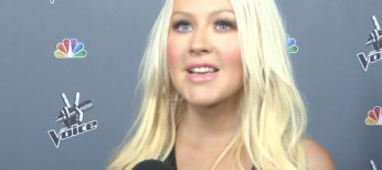 "Video Interview: Christina Aguilera talks down time away from ""The Voice"""