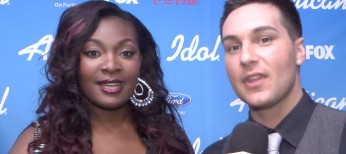 """'American Idol' contestant Candice Glover says, """"Oh my God!"""""""