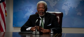 Morgan Freeman Takes Charge in 'Olympus'