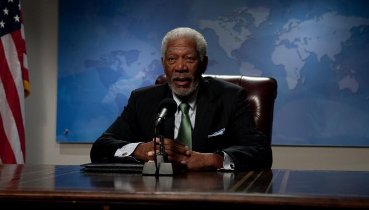 Morgan Freeman Takes Charge in 'Olympus'