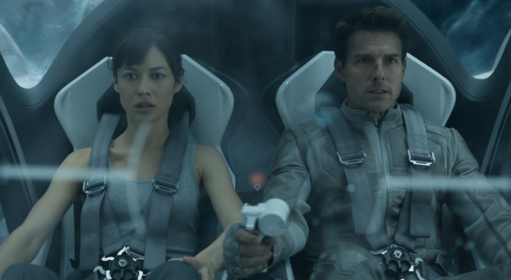 'Oblivion' Star Olga Kurylenko is No Stranger to Action Genre – 3 Photos
