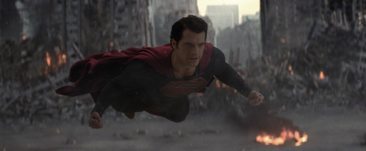 Henry Cavill Suits Up for 'Man of Steel' – 4 Photos