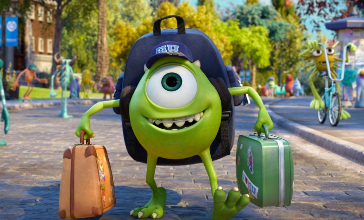 Crystal, Goodman Matriculate to 'Monsters University'
