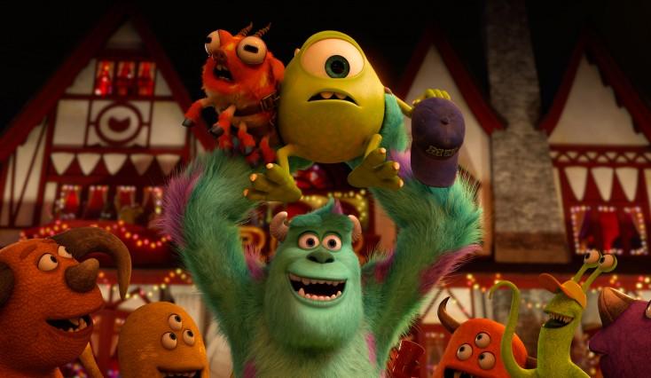 Crystal, Goodman Matriculate to 'Monsters University' – 3 Photos