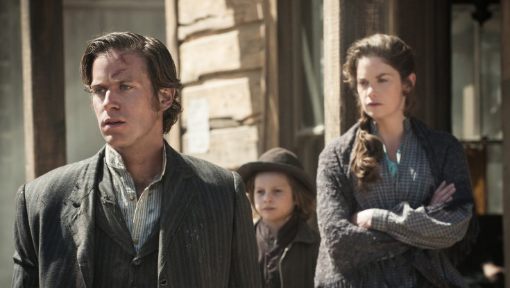 EXCLUSIVE: Ruth Wilson Saddles Up for 'Lone Ranger' – 2 Photos