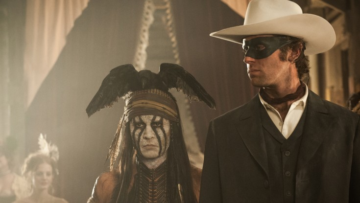 Depp Rides Off With 'Lone Ranger'