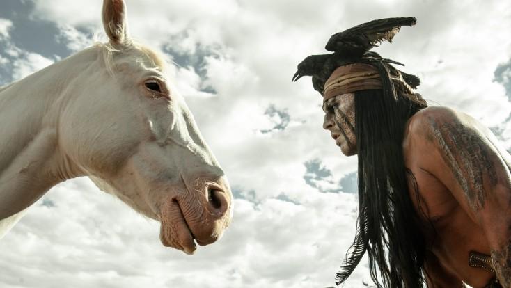 Johnny Depp is No Sidekick in 'The Lone Ranger'