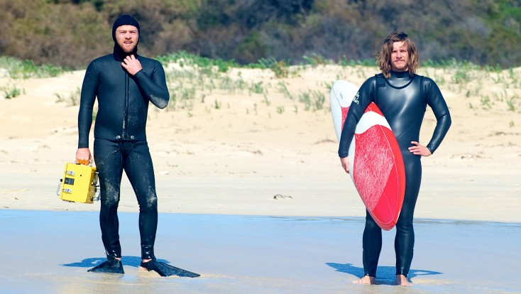 Sam Worthington and Myles Pollard 'Drift' back to Australia