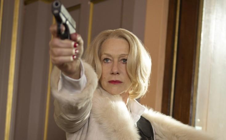 Mirren Reprises Assassin Role in 'RED 2'- 3 Photos