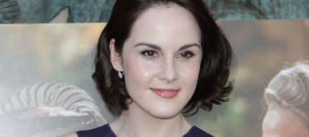 Michelle Dockery Back at the 'Abbey' for Season Five – 3 Photos