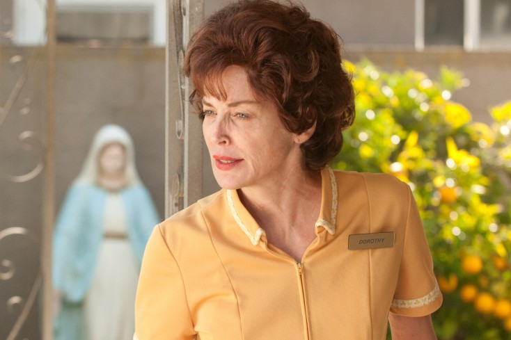 Stone Takes Off For 'Lovelace'