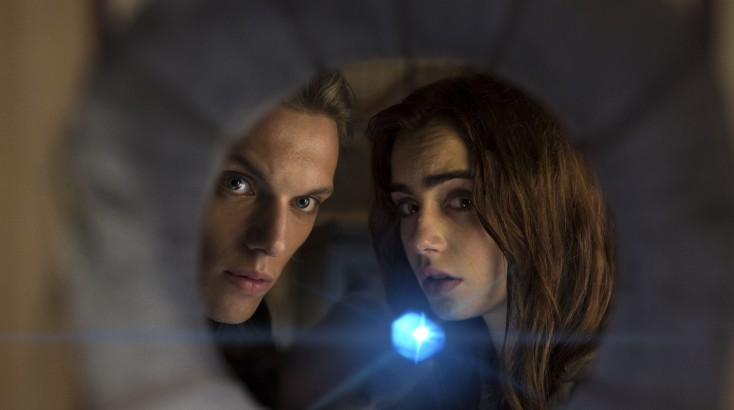 Lily Collins Materializes in Otherworldly 'City of Bones'