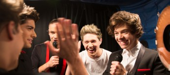 One Direction's Horan and Styles Talk on 'Us'
