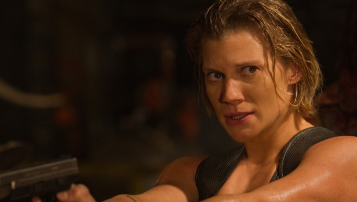 Katee Sackhoff Holds Her Own Against the Guys in 'Riddick' – 3 Photos