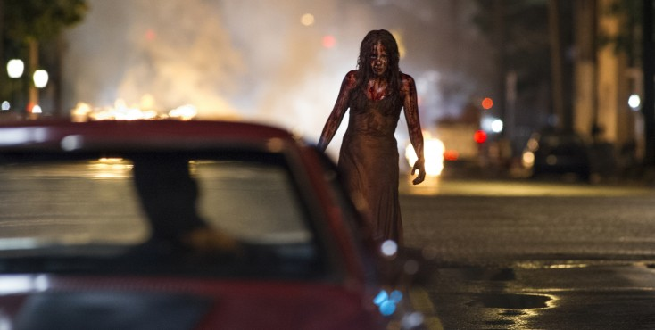 Moretz Tackles Iconic Horror Role in 'Carrie' – 4 Photos