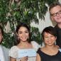 Vanessa Hudgens Accepts $100K HFPA Donation For Typhoon Haiyan Victims