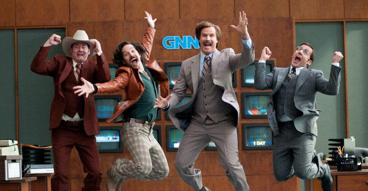 'Anchorman 2' More Adequate Than Legendary – 4 Photos