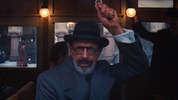 Jeff Goldblum Checks in at 'Grand Budapest Hotel'