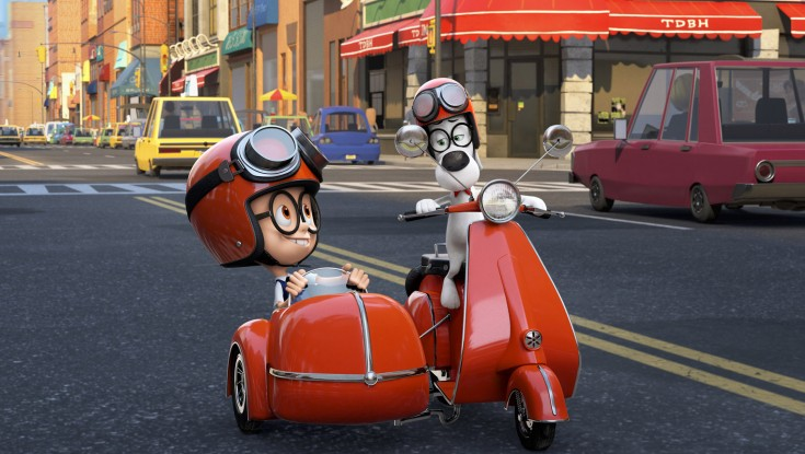 Mr. Peabody and Sherman Travel to 21st Century – 3 Photos