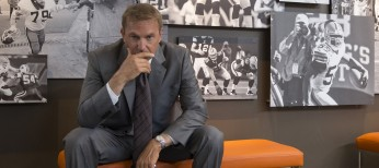 Kevin Costner Enters the 'Draft' – 4 Photos
