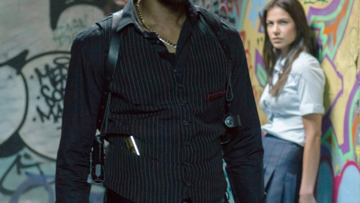 Rapper RZA Scales 'Brick Mansions'