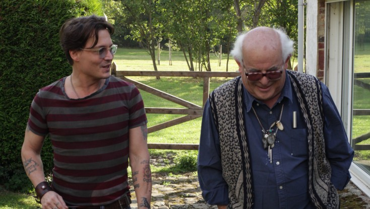 EXCLUSIVE: Johnny Depp Had 'Good Reason' to be in Ralph Steadman Doc – 4 Photos