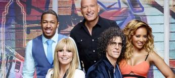Heidi Klum Talks on 'America's Got Talent'