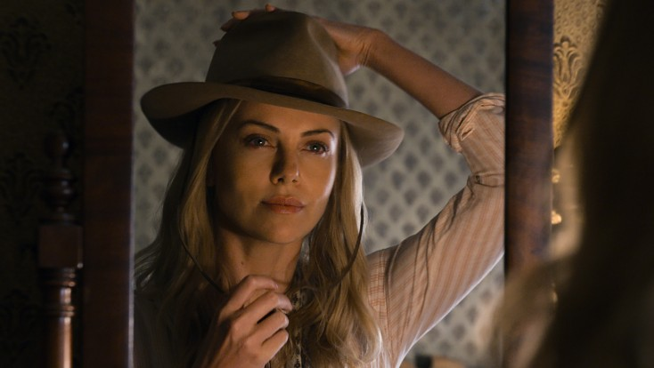 Charlize Theron Shows Her Funny Side in 'West'
