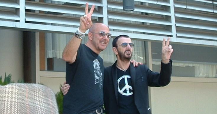 Ringo Starr Celebrates Birthday with Fundraiser Kickoff – 2 Photos